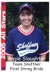 Bride's Baseball Card